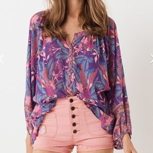 Spell & The Gypsy Bianca Blouse NWT